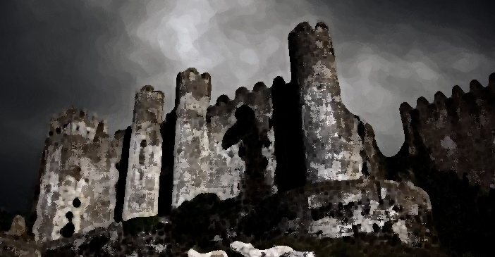 Castle towers cropped